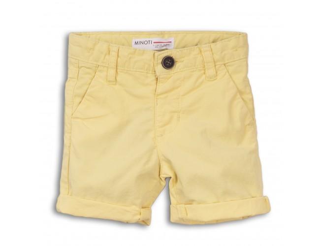 Къси панталонки за момче жълти