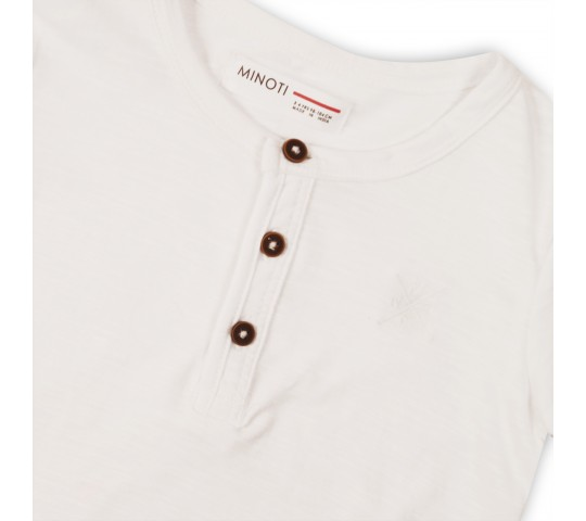 Minoti Тениска бяла за момче