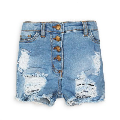 Minoti Къси дънкови панталони с висока талия