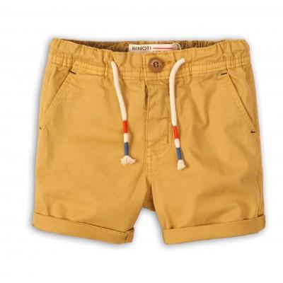 Minoti Къси панталони цвят горчица