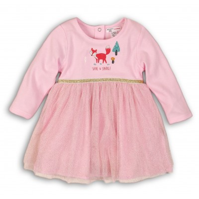 Minoti Розова рокличка с тюл