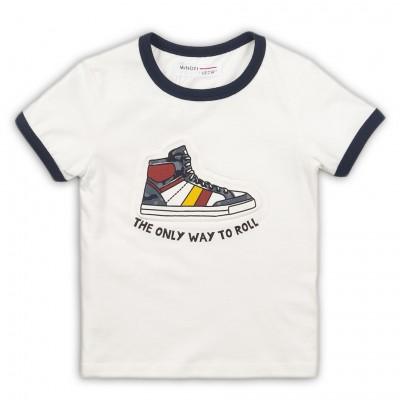 Minoti Детска тениска с кецове