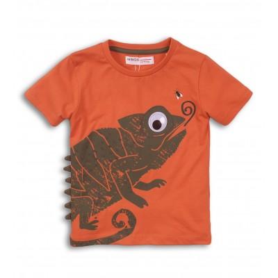 Minoti Оранжева тениска с Гущер