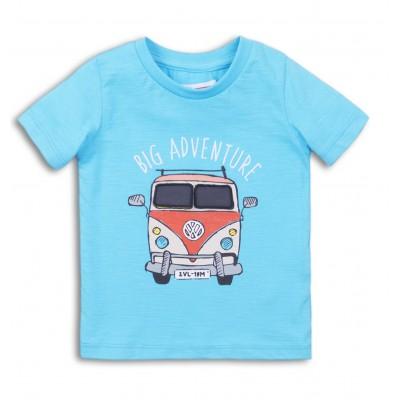 Minoti Синя тениска с автобус