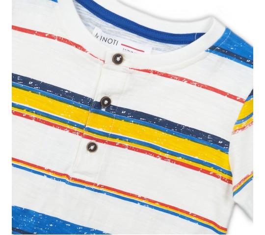 Minoti Тениска с копчета с цветно рае