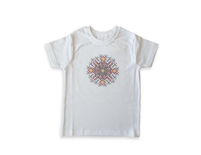 Тениска със шевица
