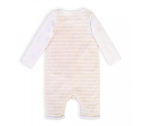 Бебешки гащеризон с блузка Car4