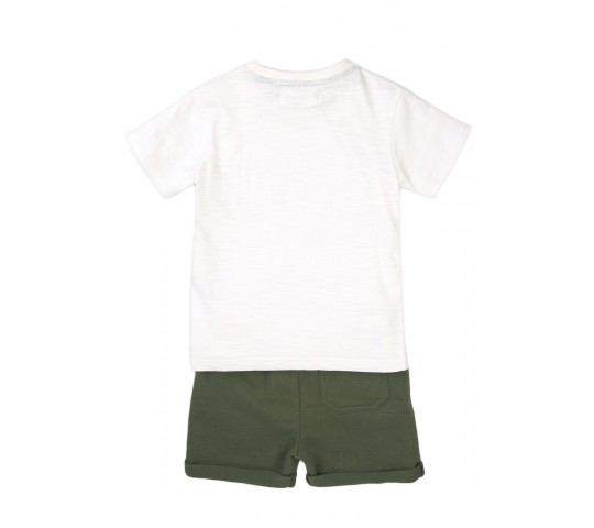 Комплект с къси панталонки и тениска 5JSET1