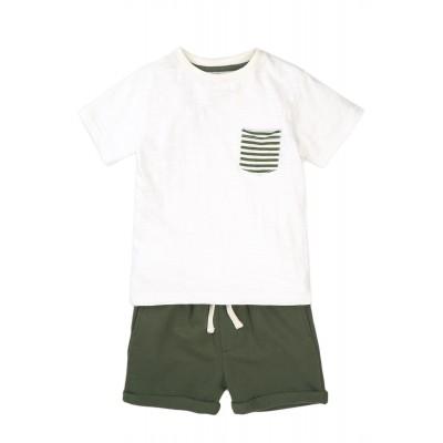 Minoti Комплект със зелени панталонки