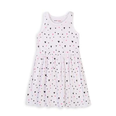 Minoti Лятна рокля трико бяла