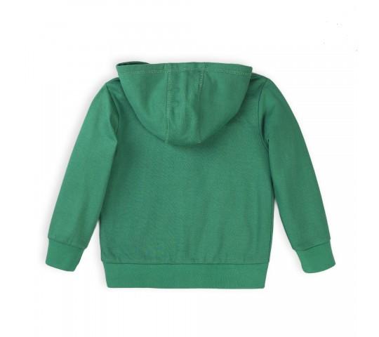 Суитчер за момче зелен