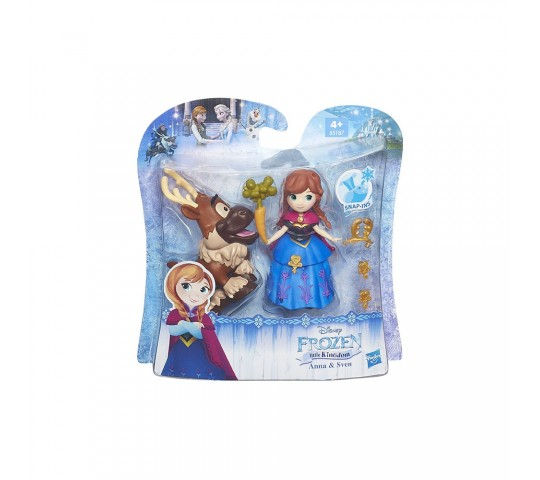 DISNEY FROZEN Мини кукла с фигурка
