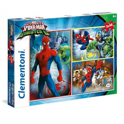 CLEMENTONI Spiderman 3×48 части