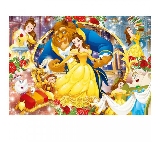 CLEMENTONI Пъзел The Beauty and the Beast 60 ч.