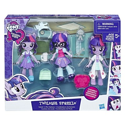 My Little Pony Кукла пони с тоалети EQ Girls Minis