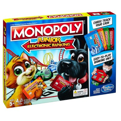 HASBRO Игра Монополи Junior ELECTRONIC BANKING