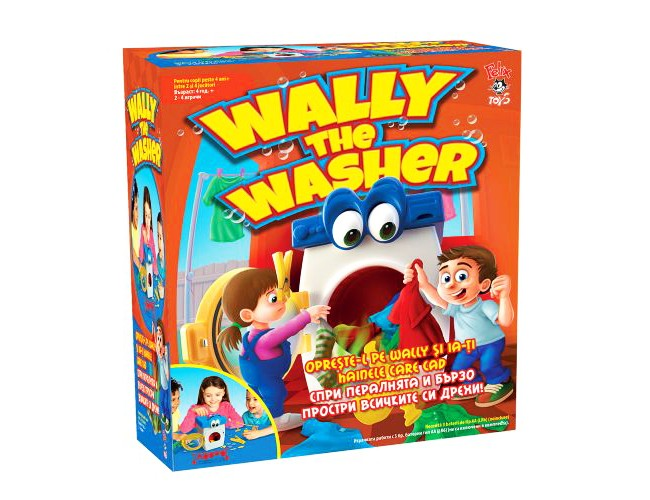 Настолна Игра Wally the Washer