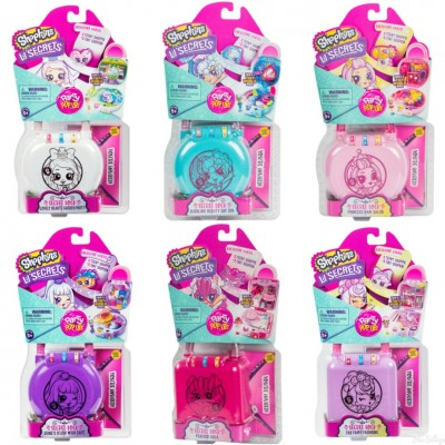 SHOPKINS Lil Secrets Катинар Party pop ups