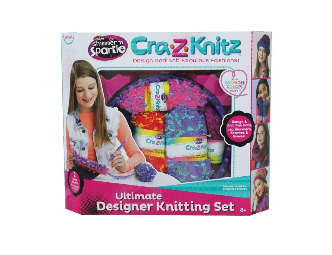 Cra-Z-Knitz Плетачен център Ultimate Designer Knitting Set