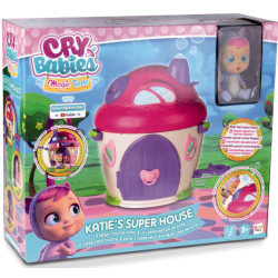 Cry Babies Magic Tears Къщичката на Katie с кукла