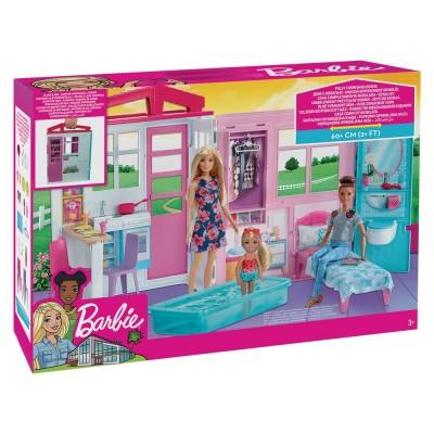 BARBIE Комплект къща за кукли