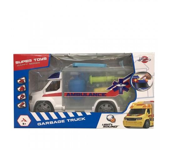 Докторски комплект в куфарче-линейка