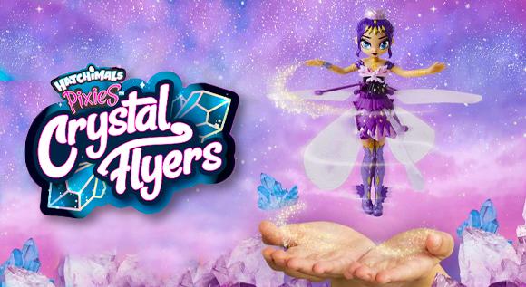 HATCHIMALS PIXIES Crystal Flyers Летяща фея