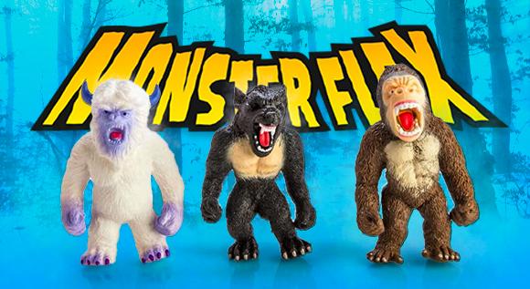 Monster Flex чудовища и играчки