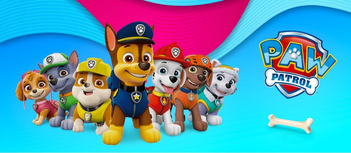 Paw Patrol кученца и играчки