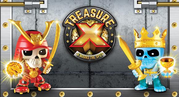 Treasure X Извънземно нашествие играчки