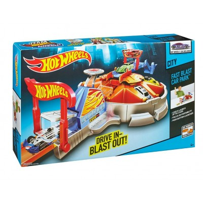 Hot Wheels Изстрелвачка Паркинг